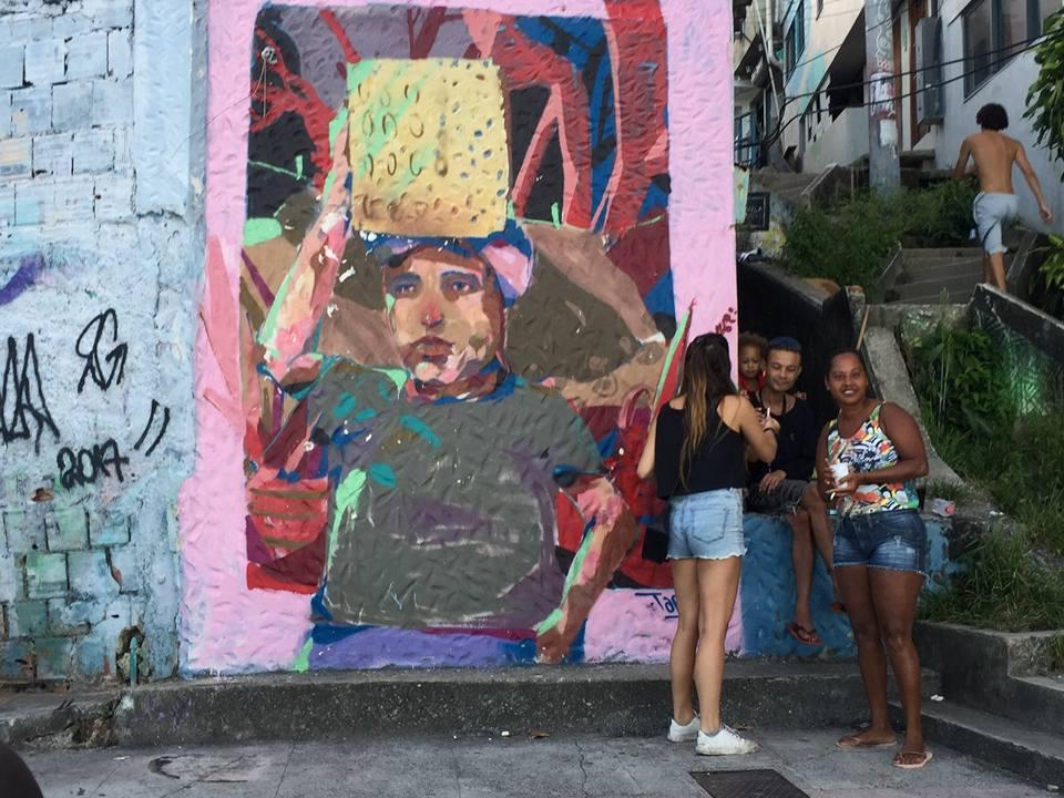 sicurezza a Rio de Janeiro nella favela vidigal
