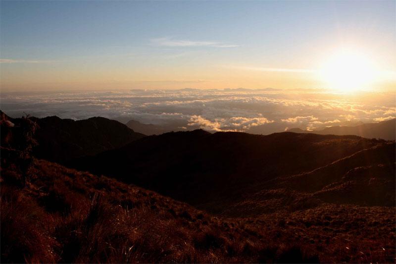 Machu Picchu a piedi: le montagne di Aguas Calientes all'alba