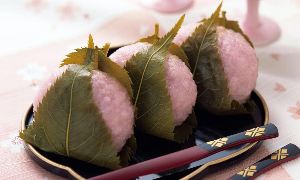 Los sakuramochi