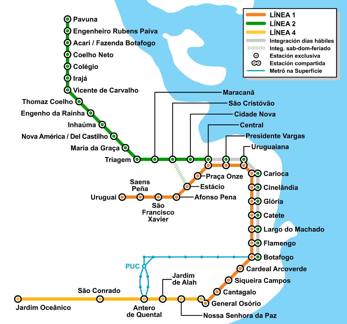 come muoversi a Rio de Janeiro: la metropolitana