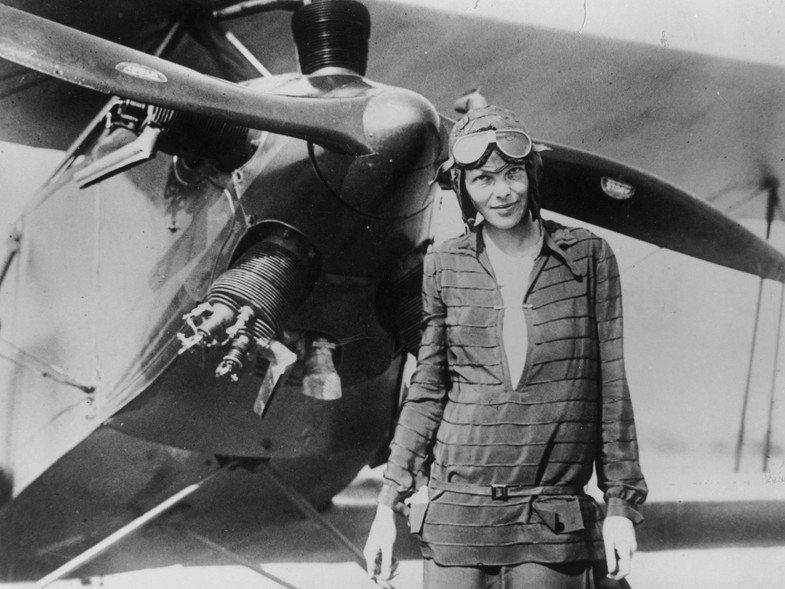 le prime donne che viaggiarono da sole: Amelia Earhart