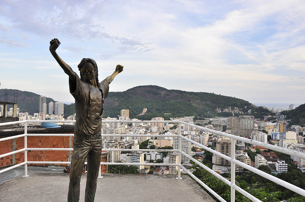 Michael Jackson a Santa Marta
