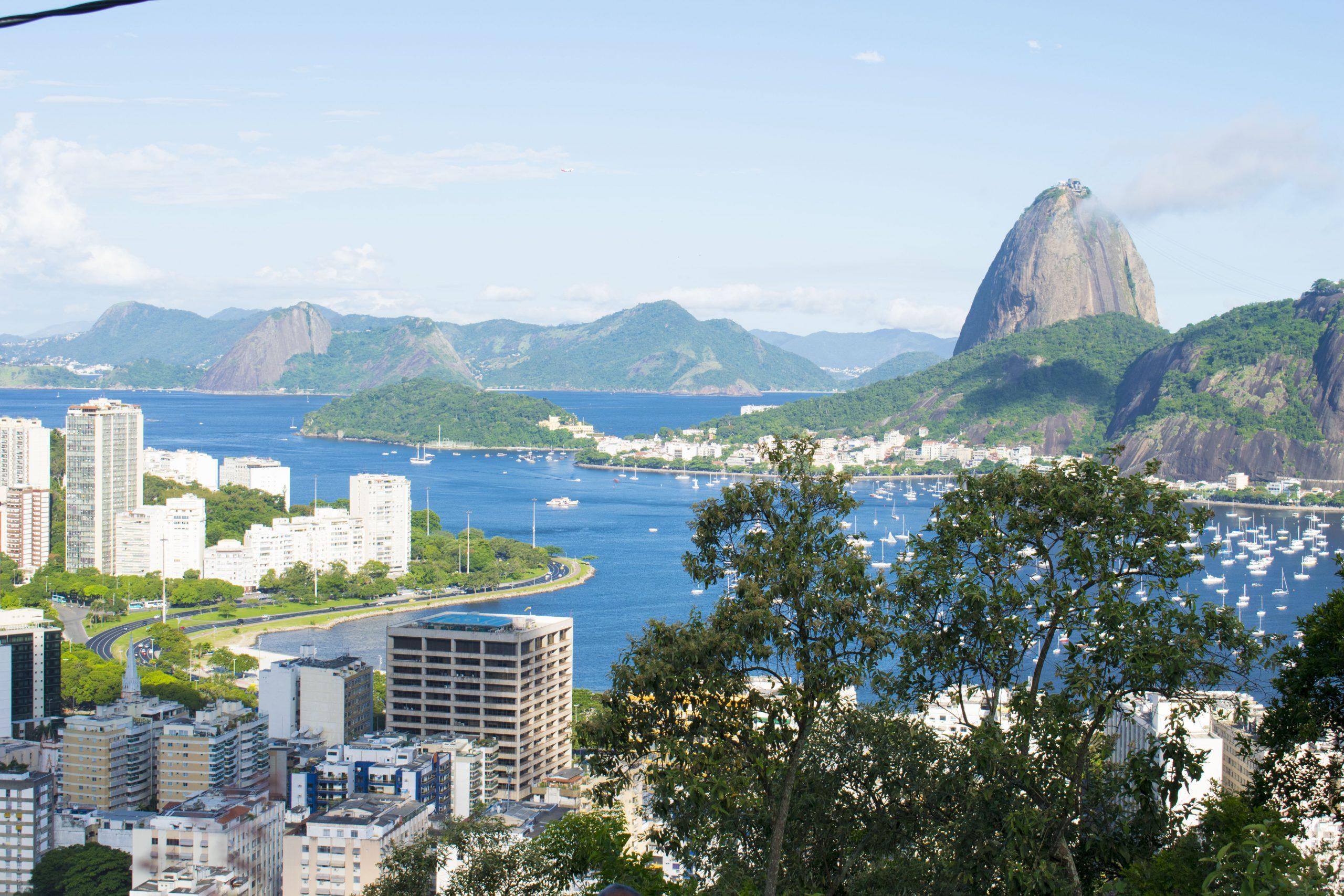 la baia di Botafogo