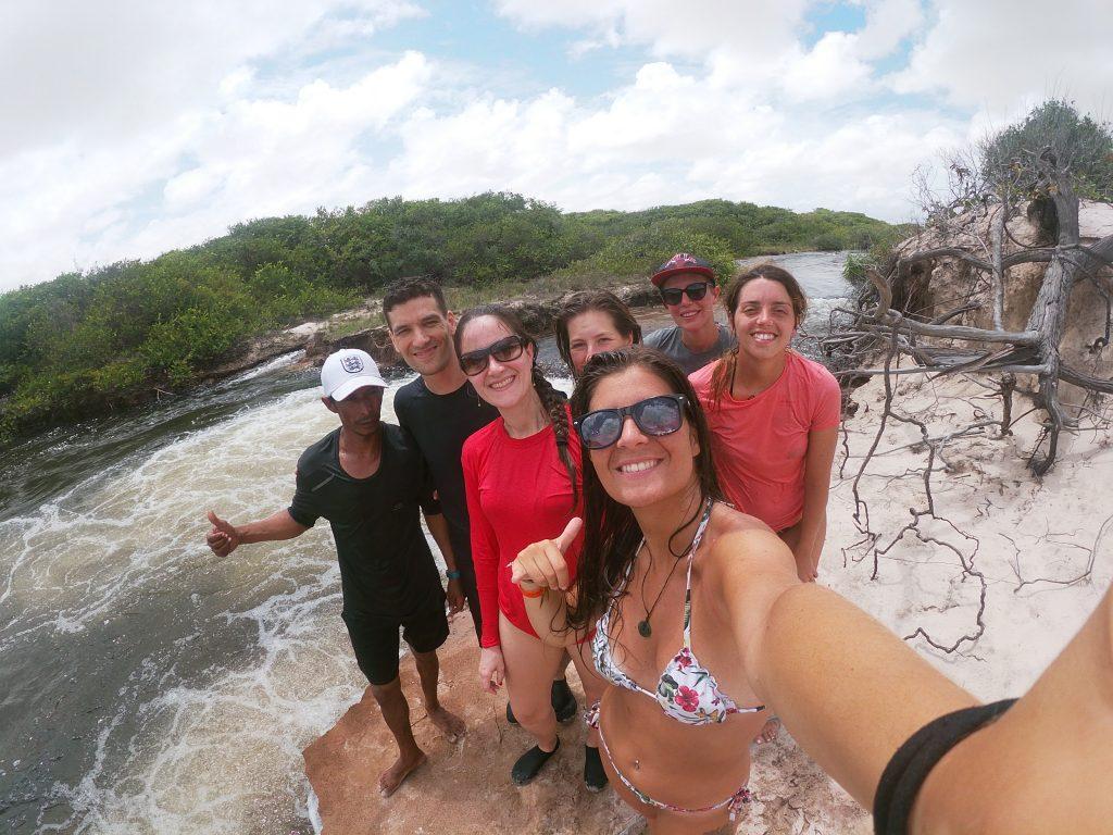 gruppo in tour a lencois maranhenses