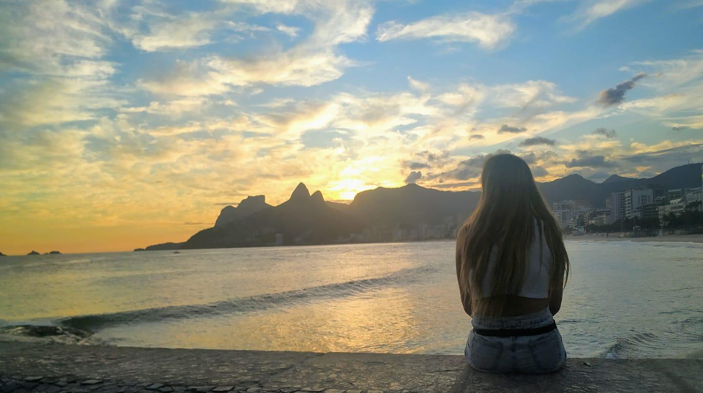 cosa fare a Rio: tramonto a arpoador