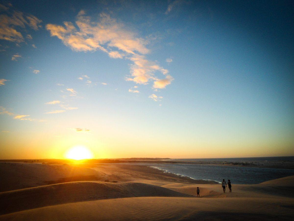 tramonto a Jericoacoara