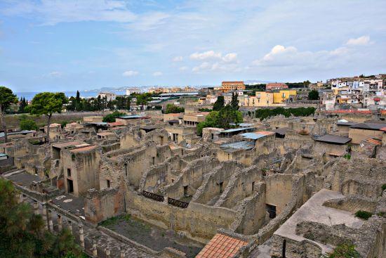 i siti dell'Unesco della Campania: Ercolano-scavi