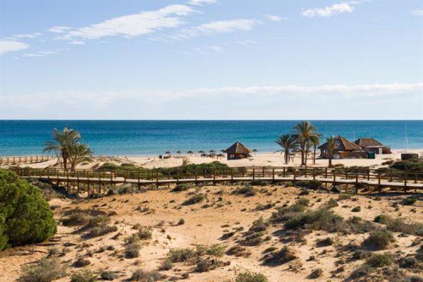 Playa El Carabasí Santa Pola