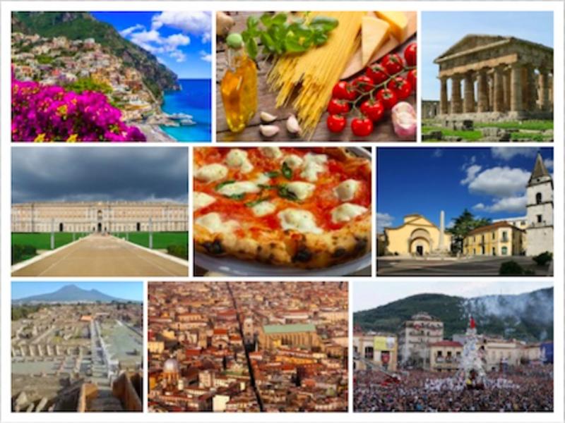 siti dell'Unesco della Campania