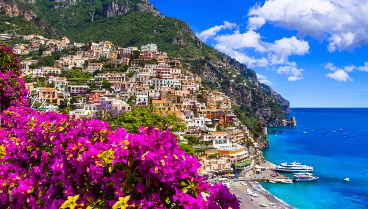 siti dell'Unesco della Campania: la costiera amalfitana