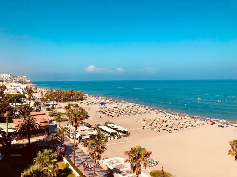 vacanza economica in Spagna nella costa del sol: la carihuela