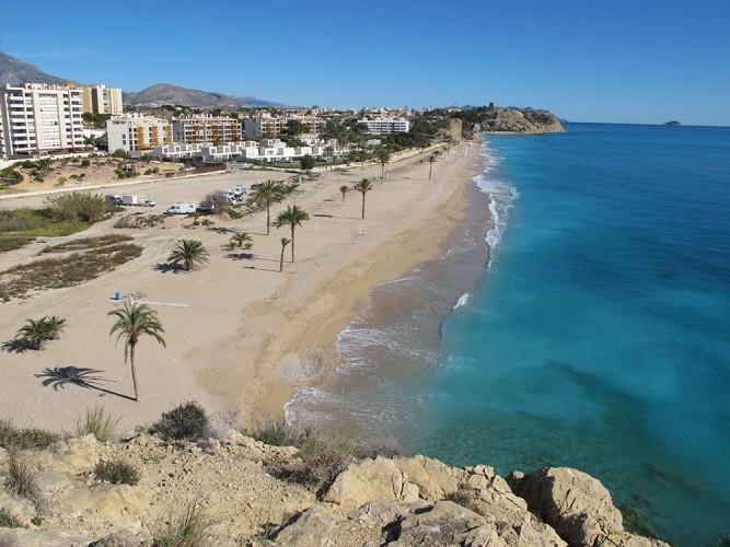 spiaggia paraiso Villajoyosa