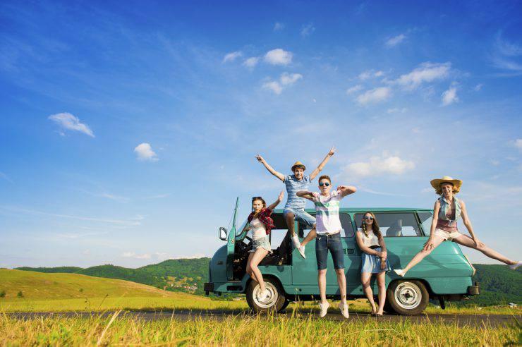 fare un'esperienza all'estero per trovare nuovi amici internazionali