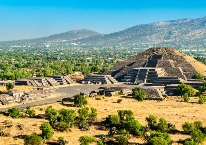 Come arrivare a Teotihuacan