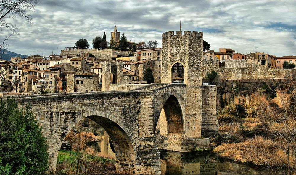 la città medievale di Besalú