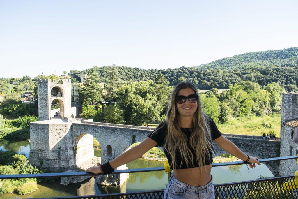 vista sul ponte di Besalú