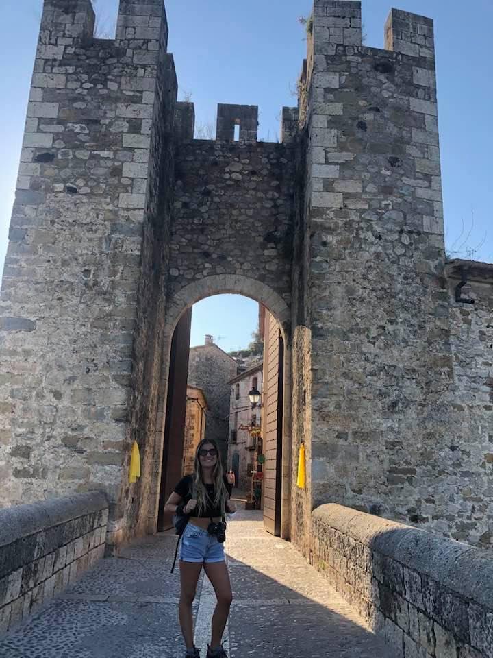 sul ponte di Besalú