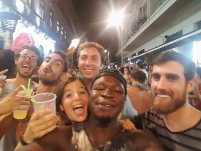divertimento nel centro di Rio de Janeiro