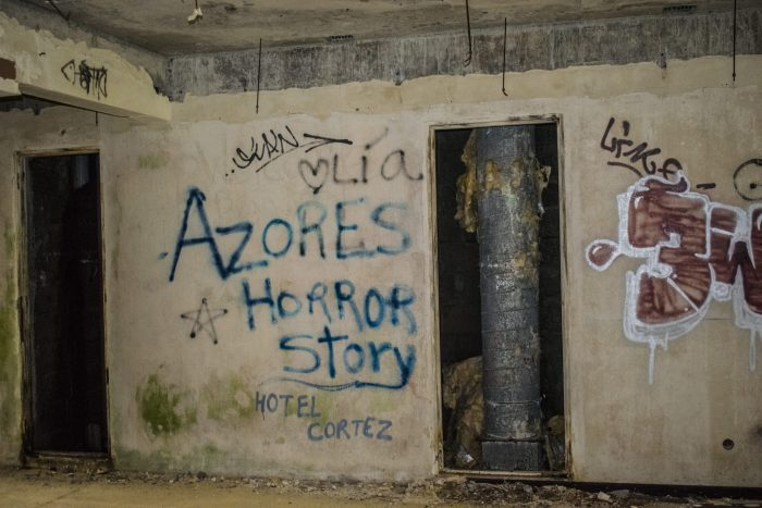 albergo abbandonato nelle azzorre