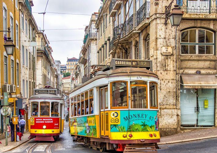 I tram di Lisbona sono i più antichi d'Europa