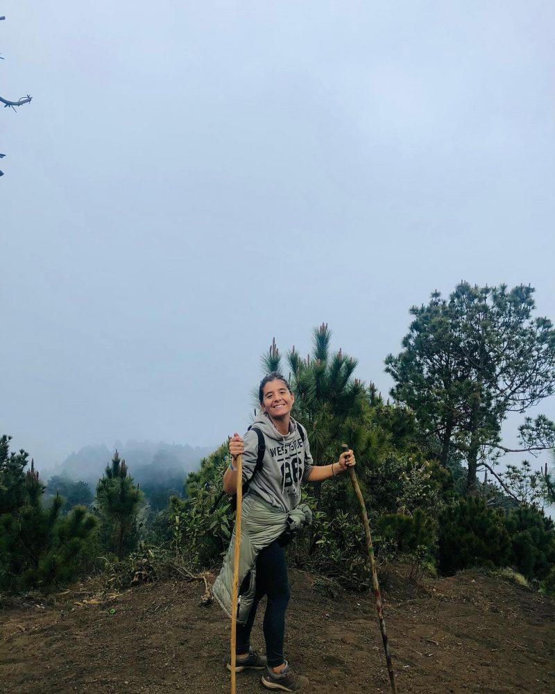 7 ore di scalata dell'Acatenango